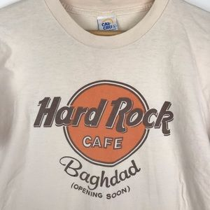 Vintage 80s RARE Hard Rock Cafe Shirt